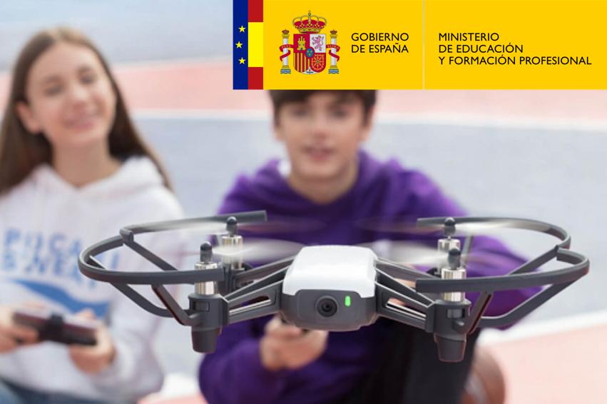 Dron Tello: primeros vuelos y programación educativa con Scratch y DroneBlocks