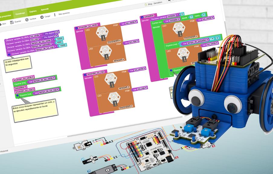 Programación y Robótica para el aula: Arduino, Bitbloq y Printbot Evolution