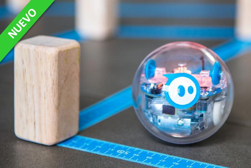 Sphero BOLT: programación educativa con dibujos, bloques y texto JS